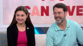14-year-old with heart condition says blood donations saved her life