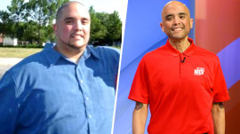 How 1 man lost 475 pounds and is now living his 'best life'