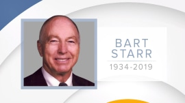 Bart Starr, Green Bay Packers Hall of Fame quarterback, dies at 85