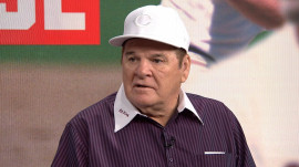 Pete Rose opens up about his new book, 'Play Hungry'
