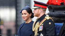 Meghan Markle makes 1st public appearance since son's birth