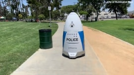 'RoboCop' makes debut at California police department