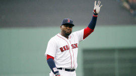 Former Red Sox slugger David Ortiz back in Boston after shooting
