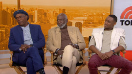 Samuel L. Jackson, Richard Roundtree and Jessie T. Usher talk 'Shaft'