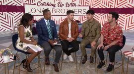 Jonas Brothers dish on family, wives and purity rings