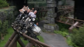 See a 1st look at new Hagrid coaster at Wizarding World of Harry Potter