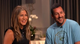 Jennifer Aniston, Adam Sandler talk 'Murder Mystery' and 30-year friendship