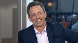Seth Meyers marks 5 years of 'Late Night'