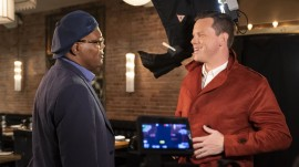 See Willie Geist channel Samuel L. Jackson's look in 'Shaft'