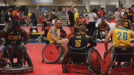 Vets show strength at 10th annual Warrior Games