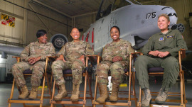 Meet the all-female team leading Maryland's National Guard