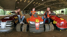 What it takes to be a lawn mower racer