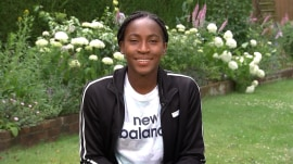 Coco Gauff chats Wimbledon run and what's next