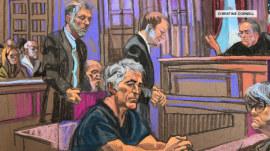 Jeffrey Epstein denied bail in sex trafficking trial