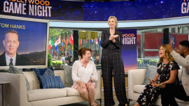 Play along as Jane Lynch hosts a pair of trivia games