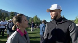 Dylan Dreyer tees up with the stars at American Century Championship