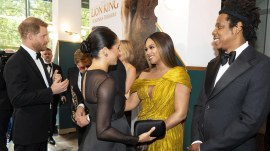 Meghan Markle and Beyonce gushed about their kids at 'Lion King' premiere