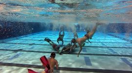 What it takes to play underwater hockey