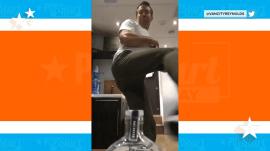 Ryan Reynolds, Blake Shelton join in on #BottleCapChallenge fun