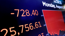 Dow drops more than 750 points: What's driving the plunge?