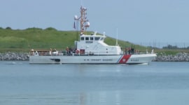 Coast Guard suspends search for firefighters missing at sea
