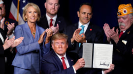 Trump orders student loan forgiveness for disabled vets