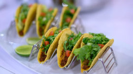 Broccoli and cheese soup, slow cooker beef tacos: Skinnytaste meal planning