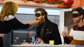 Hoda Kotb and Willie Geist face off in sandwich showdown