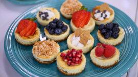 Joy Bauer's healthier recipes for cheesecake, brownies, lemon bars