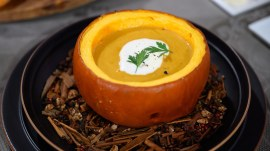 Make butternut squash soup, roasted beets for Thanksgiving