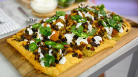 Veggie chili pizza and other recipes for a meatless Make-Ahead Monday