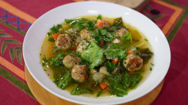 Italian wedding soup: Make Valerie Bertinelli's healthy version