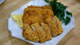 Make Rachel Mansfield's healthier fried chicken