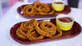 Make Joy Bauer's healthier onion rings, tortilla soup, brownies