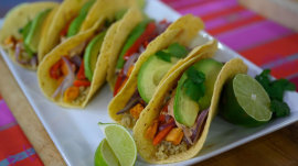 Slim and trim tacos, fit and fab lobster pasta: Elizabeth Heiskell shows how