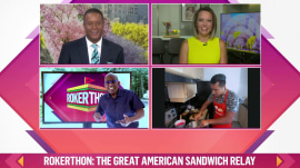 Rokerthon: Al Roker checks in with Craig and Dylan as his sandwich relay continues