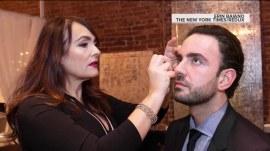 Brow-mance: 'Brow guru' helps men with unruly eyebrows