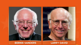 Here's how Larry David came to play Bernie Sanders (perfectly)