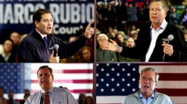 New Hampshire primary: GOP candidates make final push