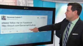 The TODAY anchors' first tweets: Looking back as Twitter turns 10