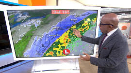 Fast-moving winter storm brings snow, messy commute to Northeast