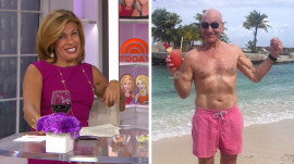 Who has the hottest abs? Hoda says: 'Bald men always win'