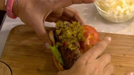 'Burger dogs,' potato salad for your Super Bowl Sunday supper