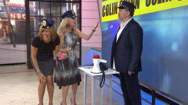 Colin Quinn handcuffs Hoda and KLG for a game of cop show charades