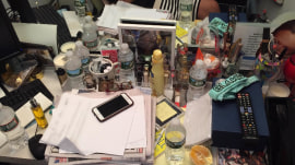 Hoda: Don't judge me because my desk is messy