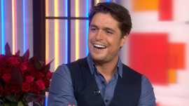 Diogo Morgado on playing a cowboy: 'I love horses… from afar'