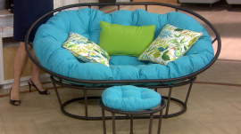 Give It Away! 5 Fourth Hour viewers win outdoor Papasan chairs