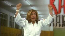 Hi-ya!! Watch Hoda throw down judo champion Kayla Harrison