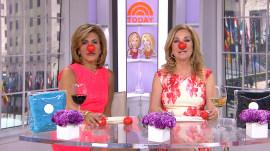 KLG, Hoda celebrate Red Nose Day!