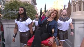Hoda and Jenna arrive in Las Vegas in style (and start drinking)